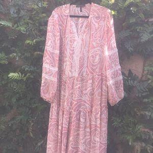 BCBG Max Azria boho dress